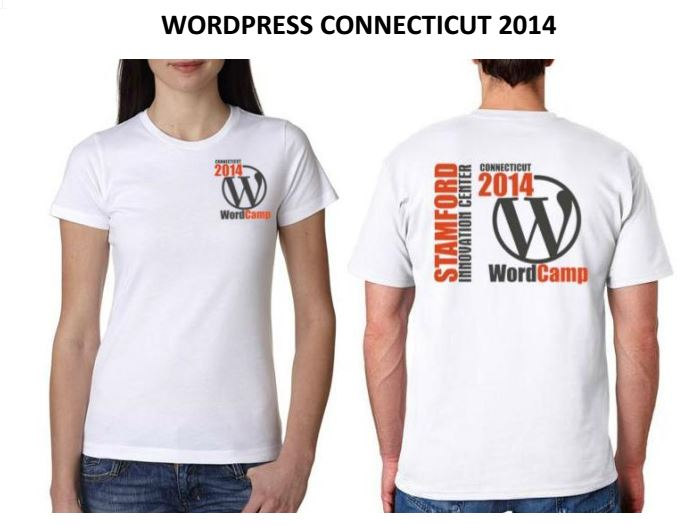 wordcamp ct t-shirts