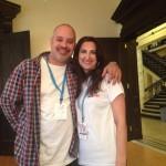 SEO Expert Alex Miranda and WordCamp CT organizer Laura Hartwig